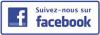 Logo suivez nous facebook